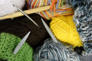 Forskellige strikkepinde